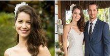Noivas de Novelas e Séries / Está noiva e procurando por inspirações para seu vestido de noiva? Na telinha vez ou outra aparece um casamento por isso selecionei nessa pasta várias noivas de novelas e séries.