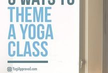For Yoga Teachers / For Yoga teachers: class themes, business articles, and more