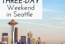 Seattle Love / Fun things to do and explore in Seattle, Washington!