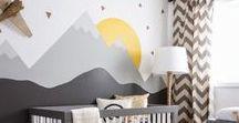 Little Boys Rooms / Nursery Decor Ideas for a little boys room