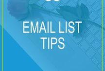 Email List Tips / Articles and tips on how to set up, grow, monitor and improve your email list for bloggers and entrepreneurs. How to create exciting opt-in content, how to make compelling copy that converts into sales and more.