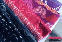 Fabric, Fabric, Fabric / Beautiful selections if fabric and color bundles. / by Pile O' Fabric