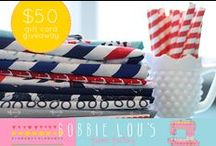 Giveaways / Let the fun begin, giveaways I support and enter! / by Pile O' Fabric
