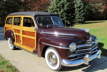 AUTOMOBILES : Woodies! / Wood Sided Wagons of all Makes and Models
