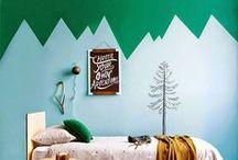 Home Decor / Deco inspiration for a creative and cozy home
