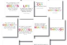 FREE Printables: Art / FREE Printables, art, signs, posters, wall art, quotes. / by Sandra Paul {Simple is Pretty}