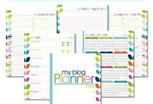 FREE Printables: Blog Planners / FREE Printable Blog Planners and Organizers. / by Sandra Paul {Simple is Pretty}