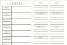 FREE Printables: Menu Plans / FREE Menu Plan Printables, recipe cards, cooking printables. / by Sandra Paul {Simple is Pretty}