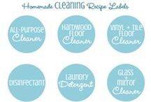 FREE Printables: Cleaning / FREE Cleaning Printables / by Sandra Paul {Simple is Pretty}