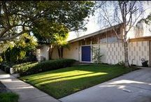 DWELLINGS : Modern + Mid-Century + Atomic Ranch Houses / Open + Clean Lined + Efficient Spaces