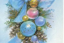 ~ Cards~Vintage  Ornaments ~ / by Shelli Huss