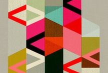 Modern Design / Modern graphic design & modern quilts. / by Pile O' Fabric