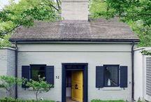 DWELLINGS : Cottages + Cabins + Compact Spaces / Small cozy living spaces...