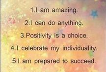 :: Essential Affirmations :: / Positivity to begin your day!