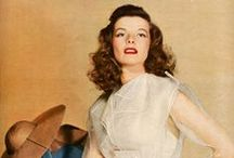Silver Screen Icons : Katharine Hepburn / Kate the Great / by R Reece