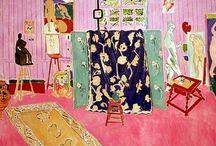 ART : Henri Matisse / (December 31, 1869-November 3, 1954) Fauve (Wild Beast) and Master of Modern Art