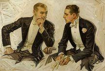 ART : Leyendecker / J.C. (Joseph Christian' (March 23, 1874-July 25, 1851)  Frank Xavier (January 19, 1876-April 18, 1924)