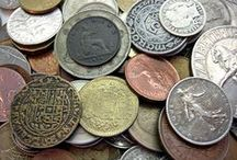 HISTORY : Coins + Paper Money + Stamps / by R Reece