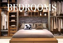 Bedrooms / Use this board as a place to inspire your perfect bedroom. @Closetworks can create custom #storage solutions for any small space, #studio or large #bedroom.