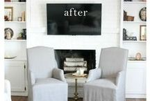 Before and After... / Before and after photos of home decor items... / by Sandra Paul {Simple is Pretty}