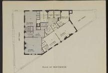 DWELLINGS : Apartments + Condo Floor Plans / Apartments + Flats + Condominiums