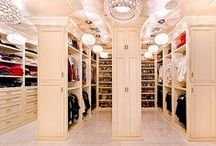 Celebrity Closets / A collection of well organized #celebrity #closets for inspiration!