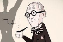 DESIGNERS : Le Corbusier / Charles-Edouard Jeanneret-Gris; Architect, Designer, Painter, Urban Planner, Writer