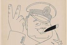 ART : Miguel Covarrubias / (November 22, 1904-February 4, 1957) Caricaturist, Illustrator, Ethnologist, and Art Historian