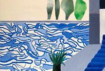 ART : David Hockney / (July 9, 1937-           )