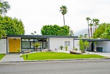 Mid Century Modern Living / Mid Mod/California Contemporary/Danish Modern/1950's-1970's style, architecture, furnishings, fixtures and living.