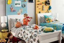Boys Bedroom Ideas / by Pile O' Fabric