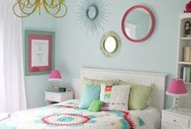 Girls Bedroom Ideas / by Pile O' Fabric