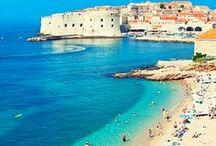 Jetsetter in Croatia / Croatia Travel + Croatia Trip + Beach Travel + Dubrovnik + Split + Europe Travel