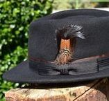 Trilby Hats-Noble Feather Trilby Hat