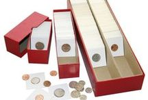 Coin Collecting Supplies / We sell high quality Lindner coin collecting boxes, capsules, carrying cases and accessories.
