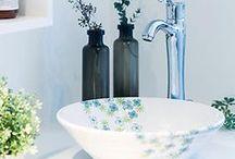 洗面ボウル おしゃれな洗面器 / シンプルなものから北欧風、和風まで。リフォームのほか、お店にもおすすめです。