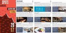 Hot Spots Hamburg - Der Gastro Guide 2017 / Hot Spots in Hamburg - die jährlichen Ausgehtipps der Hansestadt. Sie sind ganz schön begehrt: unsere hoch aktuelle Auswahl gastronomischer Destinationen, die wir Besuchern der Internorga jedes Jahr als Empfehlung für ihren Hamburg-Besuch ans Herz legen. Nun sind die Tipps 2016 komplett. Erarbeitet wurde der Guide von der Fachzeitschrift food-service sowie von SODA aus Bochum. Wertvolle Tipps liefert die DEHOGA Trendtour.
