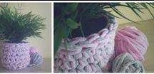 handmade crochet plant pots / szydełkowe doniczki / made by wloczy.sie :) • www.facebook.com/wloczy.sie •