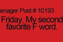 Teenager Posts / True.