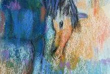 Affordable Original Art Under $100 / affordable abstract art, abstract art under $100, abstract paintings under $100, inexpensive abstract paintings