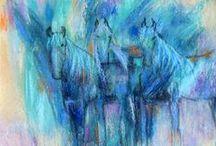 Animal Abstract Art / animal abstract art, colourful art, abstract art, animal abstract artworks