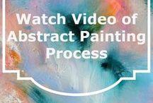 Videos of Artists Painting / art videos, art process, abstract art, videos of artists painting