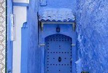 Oh Those Blues!! / blue colour palettes, everything blue, colour blue