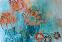 Flower Art / Flower art, colorful art, flower art