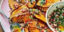 Side Dish Recipes / Collection of Side Dishes Ideas, mainly Vegetable Side Dishes, Roasted Vegetables, Mash and other side dish recipes