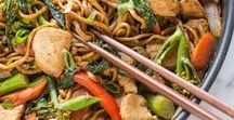 Asian Cuisine / Asian inspired dishes, Noodles, Fried Noodles, Fried Rice, Asian Salads, Asian Soups, Rice Paper Rolls, Spring Rolls, Pho, Sate, Roti, Curry