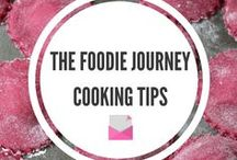 Foodie Journey - Cooking Tips / Cooking Tips, Baking Tips, Cooking Advices, Baking Advices, Baking Professional Tips, Cooking Professional Tips, Lists, Tips, Advices, Cooking Tricks, Baking Tricks, How to improve in the kitchen, Learn from Professionals, Kitchen Fun, Kitchen Experiments, 10 things I've learned