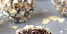 Energy Balls / Recipes for Energy Balls, Power Balls, Sweet Bites and Dessert Balls