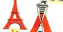Paris je t'aime / FLE - Français Langue Étrangère     Illustrations sur Paris et... oui, c'est elle: La Tour Eiffel