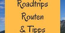 Roadtrips - Routen und Tipps / Roadtrips sind einfach unschlagbar! Nur du, dein liebster Beifahrer und endlose Freiheit :-)! Hier haben wir die besten Routen und Tipps für deinen nächsten Roadtrip in Deutschland, Europa oder weltweit zusammengestellt